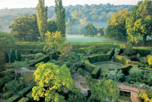 Gartenlandschaft Labyrinth