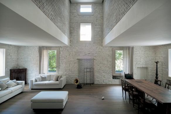 Wienerberger Brick 16 Ziegel Wohnzimmer