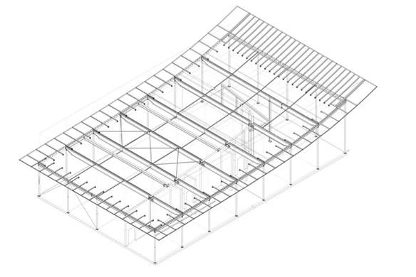 Ausgezeichneter Stahlbau 2016 Firmenzentrale Kärcher Winnenden  Dachkonstruktion