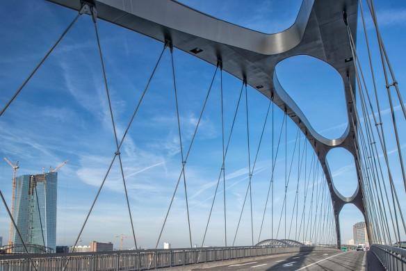 Ausgezeichneter Stahlbau 2016 Osthafenbrücke FFM