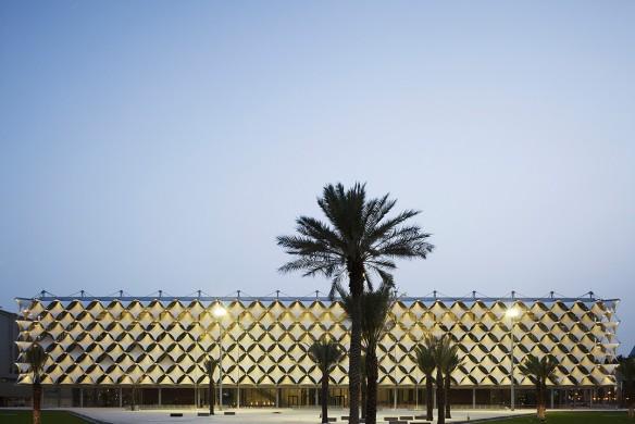 Ausgezeichnet Stahlbau 2016 King Fahad Nationalbibliothek Riad