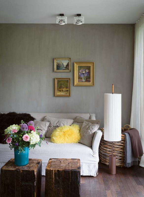 Farrow & Ball Stilvoll wohnen mit Farbe Interior Wohnzimmer Gelb