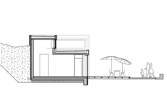 Ausgezeichneter Stahlbau 2016 Strandbad Twistesee Schnitt