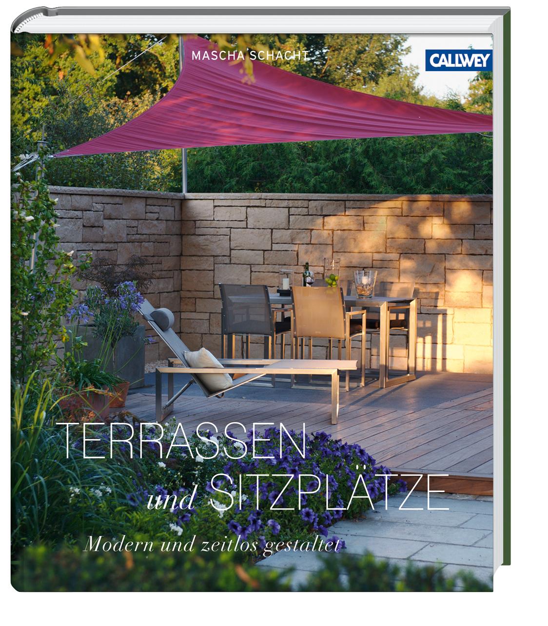 terrassen und sitzpl tze modern und zeitlos gartenbuch. Black Bedroom Furniture Sets. Home Design Ideas