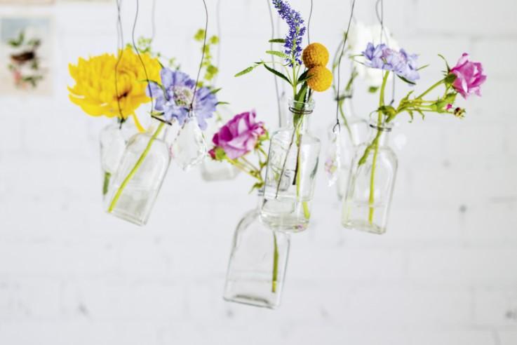 Wohnen mit Blumen Inspirationen von Bloggerin und Stylistin Holly Becker fotografiert von Holly Becker