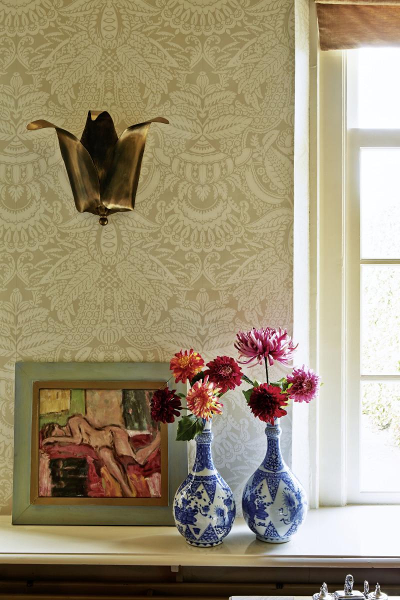 Farben Im Interieur Stilvolle Ambiente: Wandgetaltung