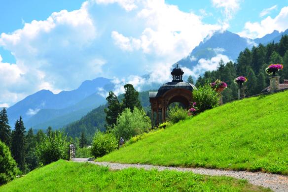 Wandern Schweiz Gärten