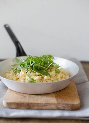 Spätzle mit Gorgonzola Rezept | mit Birne und Rucola | Rezept der Woche | Callwey Kochbücher