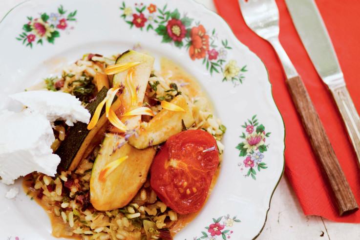 Grill Risotto mit Gemüse Rezept | Aus Liebe zum Kochen | Callwey