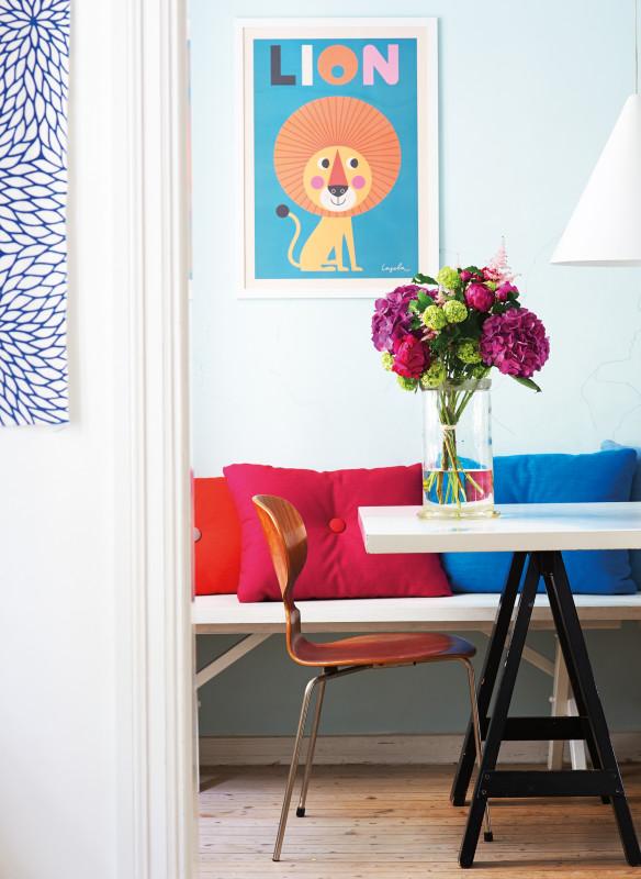 Einrichten Wohnideen Tisch Stühle