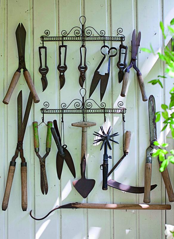 Antikes Gartenwerkzeug Ideen Gartenhaus
