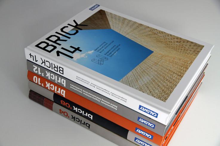 Wienerberger BRICK Award Bücher von Callwey