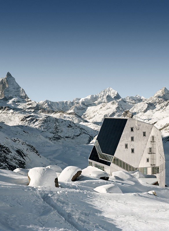 Neue Monte Rosa Hütte ETH-Studio Monte Rosa
