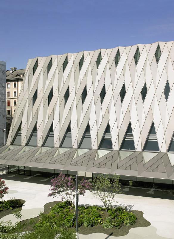 Musée d´Ethnographie de Genève Graber Pulver Architekturführer Schweiz