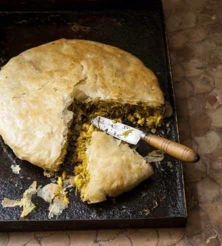 Pastilla mit Meeresfrüchten   Rezept   Marokkanische Pastete   Zu Gast in Marokko   Rob und Sophia Palmer   Callwey