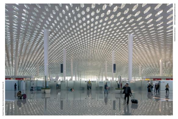 Innenarchitektur - Innenansicht Terminal Shenzen