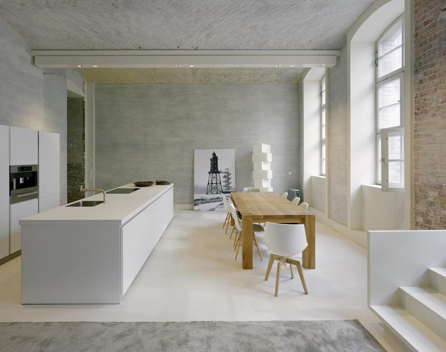 Offener Grundriss loft living callwey architekturbücher