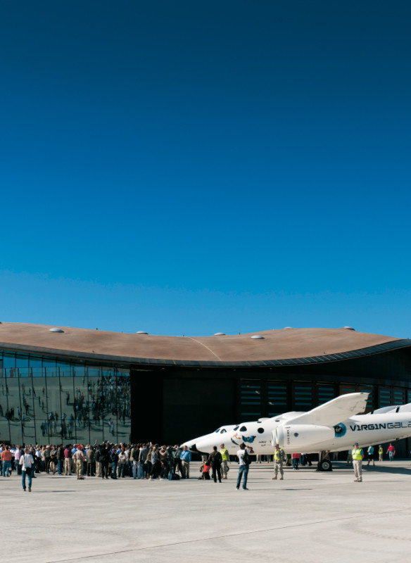 Spaceport | 90NM Architektur