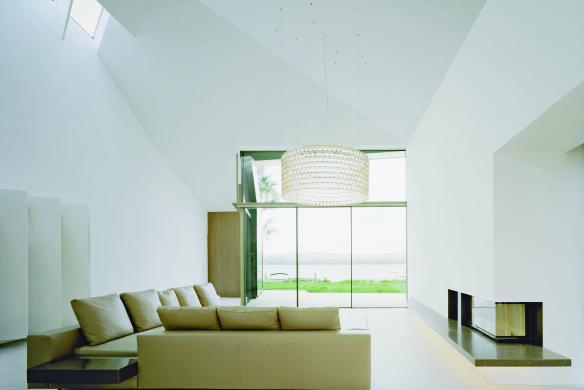 Interieur Design Wohnzimmer minimalistisch