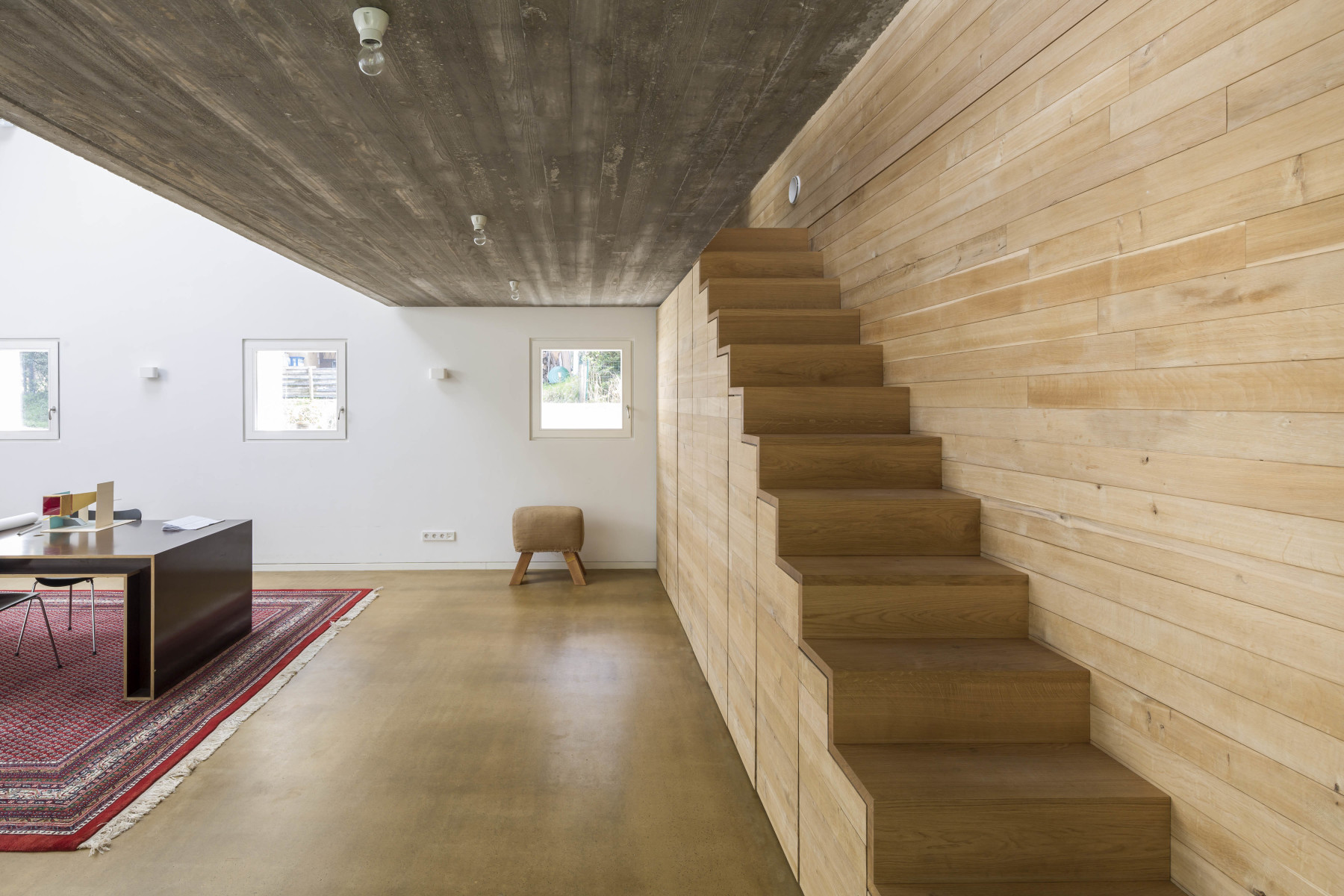 Treppe Holz Offen