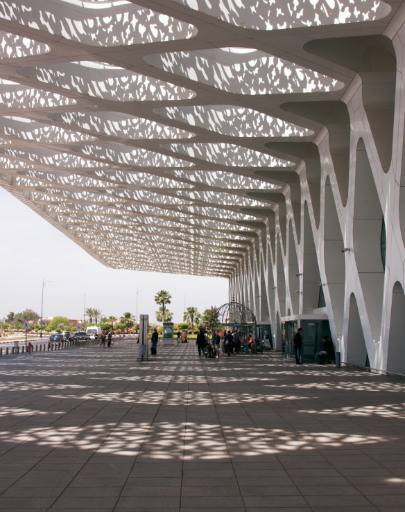 Airport Marrakesch Architektur