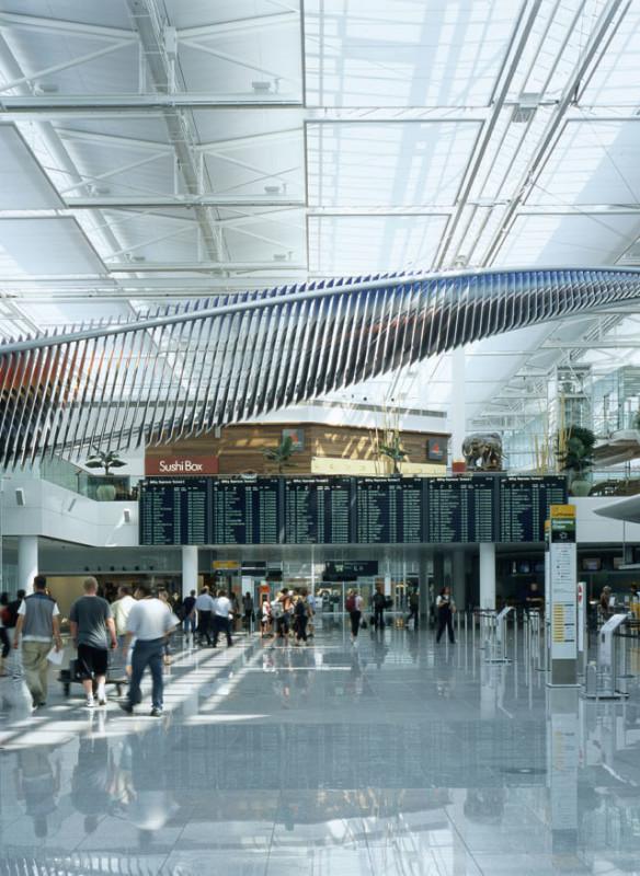 Flughafen München Terminal - Kunst