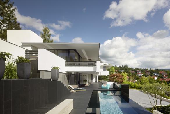 Alexander Brenner Haus Pool Architektur Schwimmbad ZB483