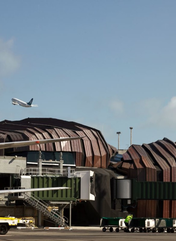 Airport Wellington - Architektur