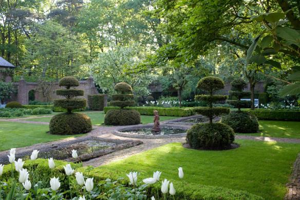 Grüne Gärten Dellafaille Buchsbaum schneiden Ideen