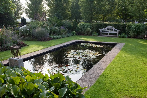 Christa Hasselhorst Wassergärten Teich tuin de villa