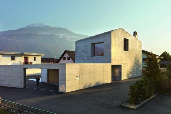 Wohnhaus Beton Modern Architektur