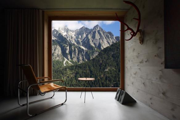 Alpen Panorama Rifugio Hans-Jörg Ruch