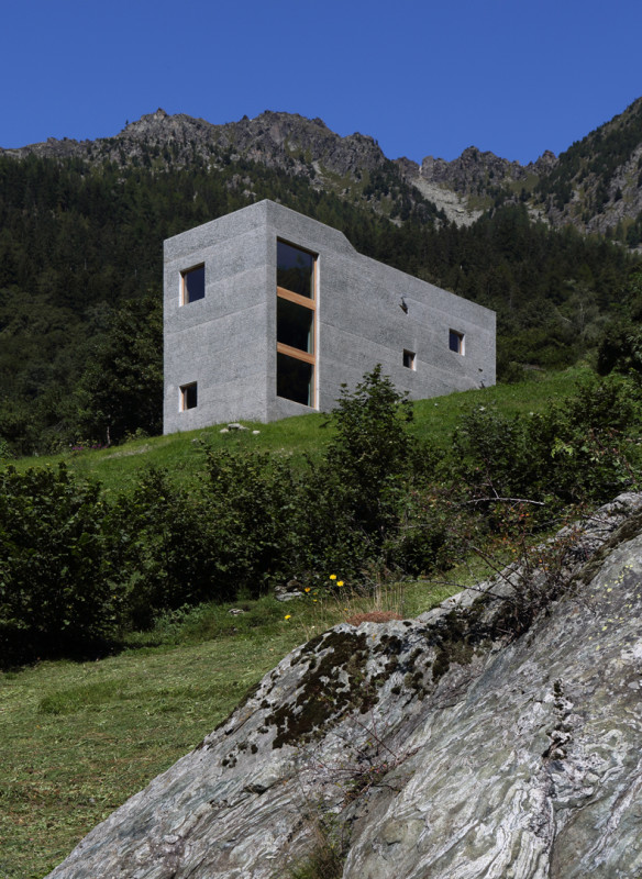 Häuser Alpen - Rifugio Hans-Jörg Ruch