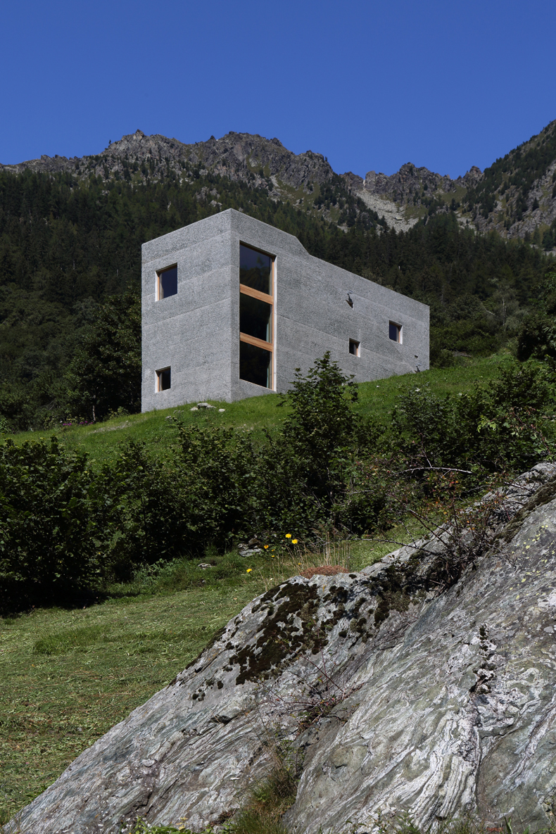 Häuser alpen rifugio hans jörg ruch