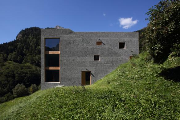 Alpen Architektur Rifugio Hans-Jörg Ruch