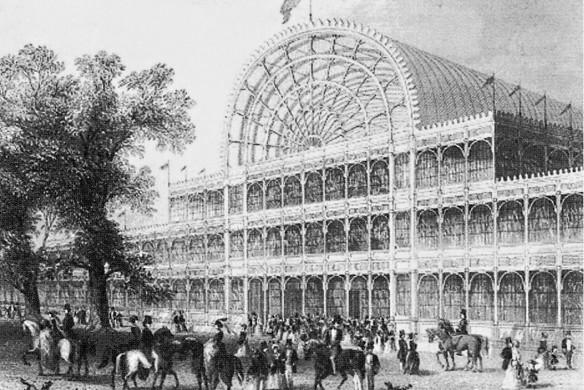Der Crystal Palace von Joseph Paxton
