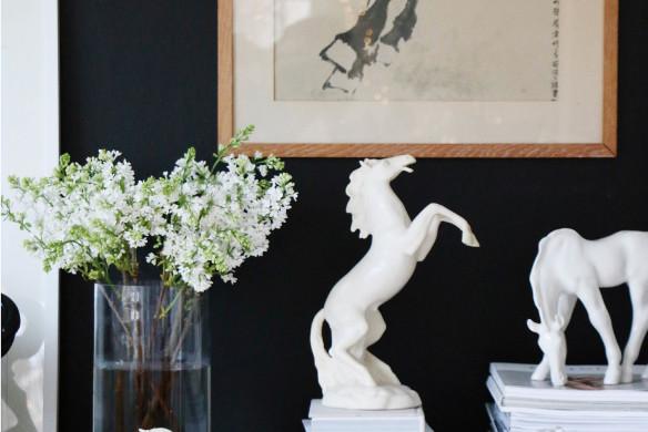 Pferdesammlung von Hilde Mork im Wohnbuch