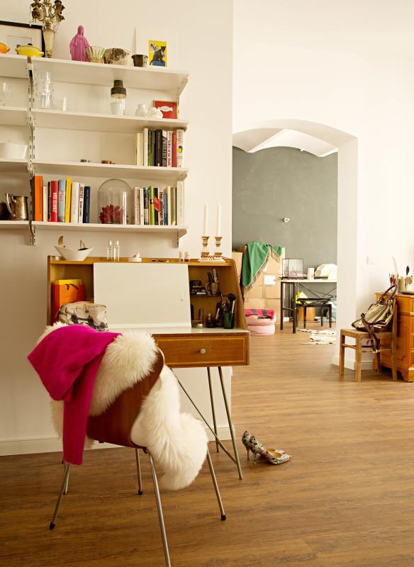Wohnzimmer bei Josephine Gaede