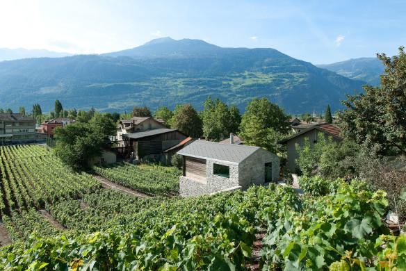 Haus in den Weinbergen Savioz Fabrizzi