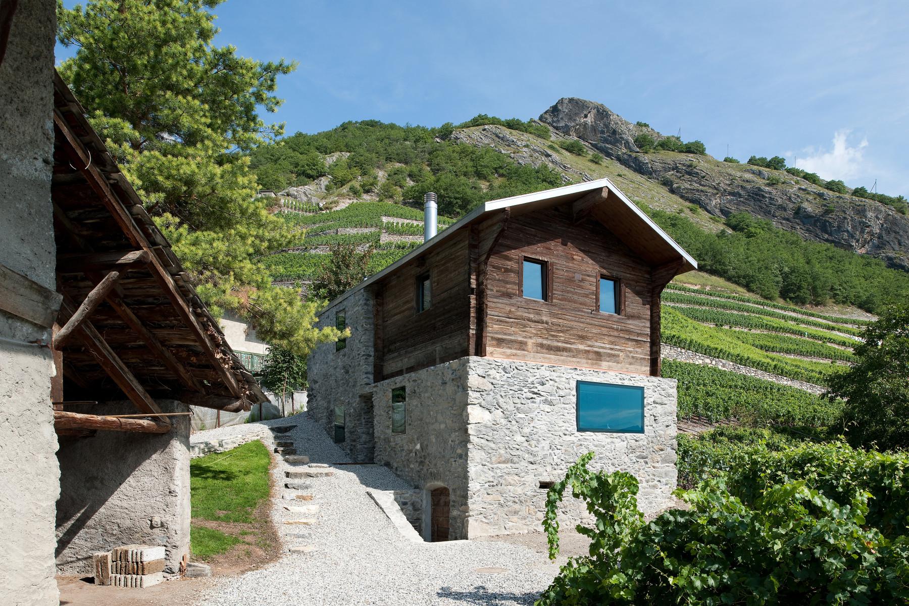 Alpen architektur germanier savioz fabrizzi haus