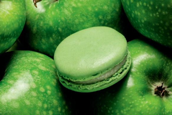 macaron grüner apfel