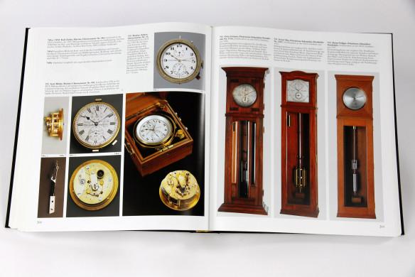 Marine-Chronometer-und-Präzisions-Sekunden-Pendeluht