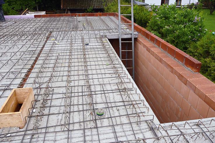 baustelle filigrandecke betonfertigteil