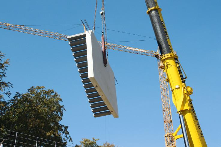 hieber betonfertigteile treppe
