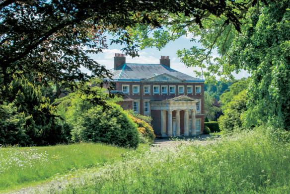 Landhaus in England mit Garten