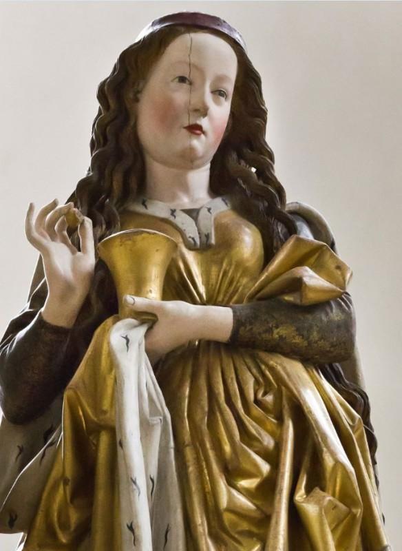 Farbige Skulpturen Johannes Taubert Magdalena