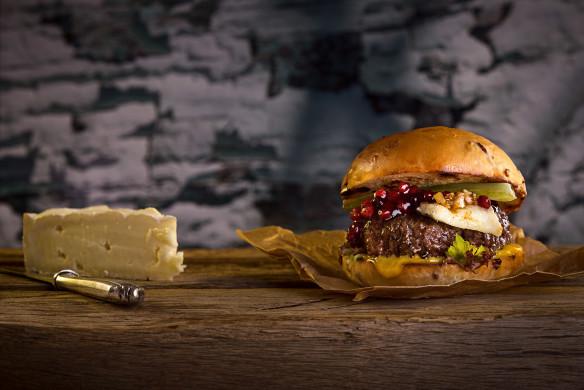 Burger Unser Brie-Burger