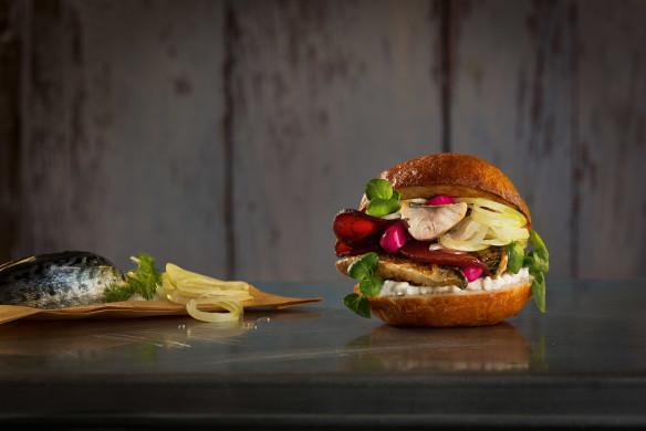 Burger Unser Fisch-Burger