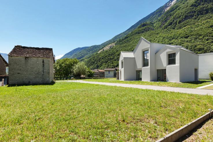 Davide Macullo Architects Häuser des Jahres 2016 Aussenansicht