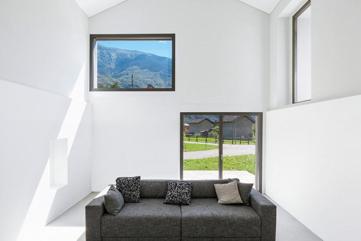 Davide Macullo Architects Häuser des Jahres 2016 Innenansicht